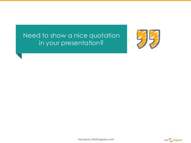 Need to show a nice quotation in your presentation?