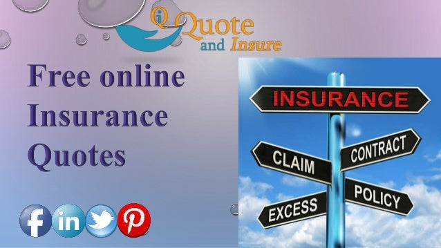 Free Automobile Insurance Quotes Online: Free Online Insurance Quote