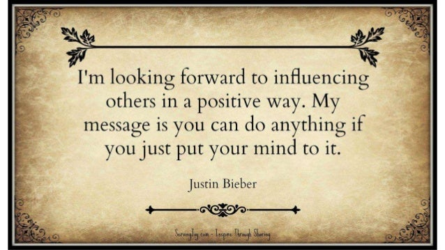 Justin Bieber Image Quotes