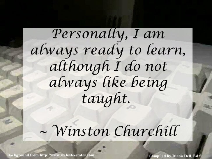 The Quotations Page: Quote from Sir Winston Churchill