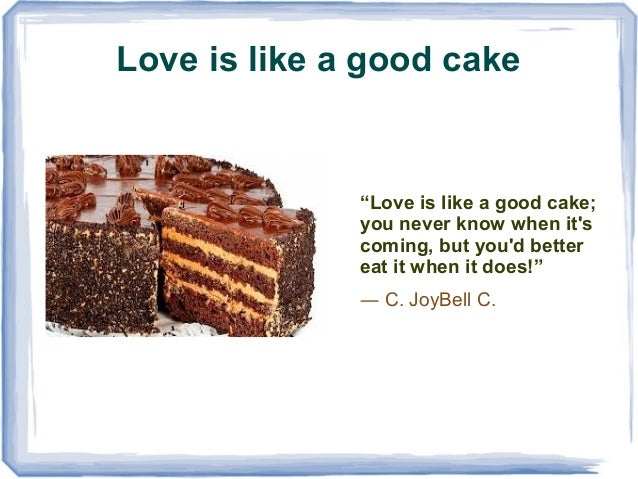 quotes about cake sweet revenge london