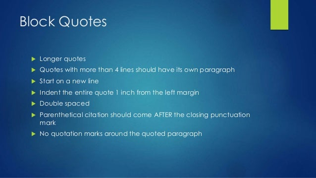 how to insert quotes in an mla essay How to format essay using mla style moreover, when writing an mla style essay, you also need to add a title page and in case of widely-famous quotes or.