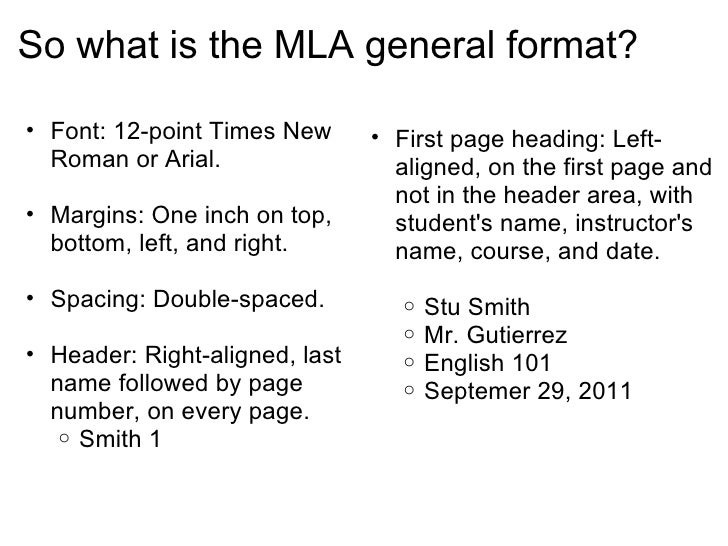 define mla format The modern language association, the authority on research and writing,  previous editions of the mla handbook provided separate instructions for each format,.