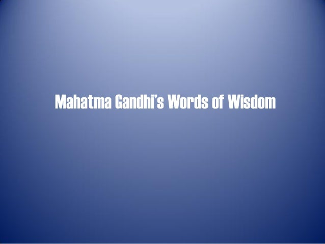 Quotes By Mahatma Gandhiejthe Highlander Simple Highlander Quotes