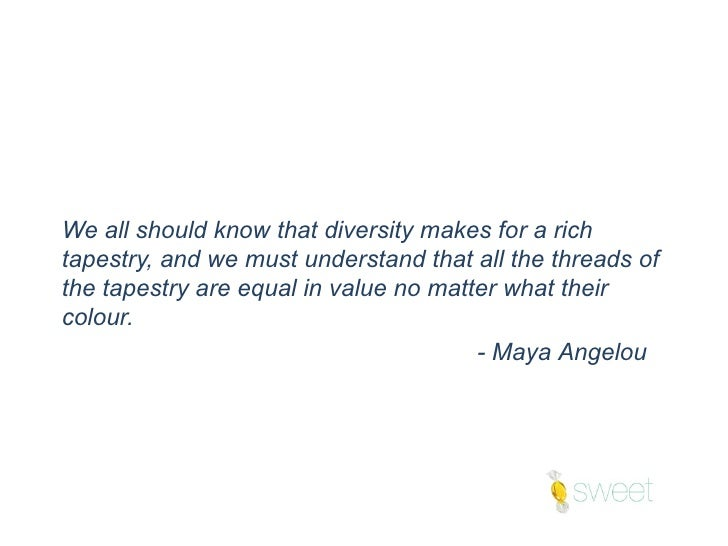Quotes On Diversity Prepossessing Quotes On 'diversity' To Inspire Yourself And Others  Sweet Tlc Ltd