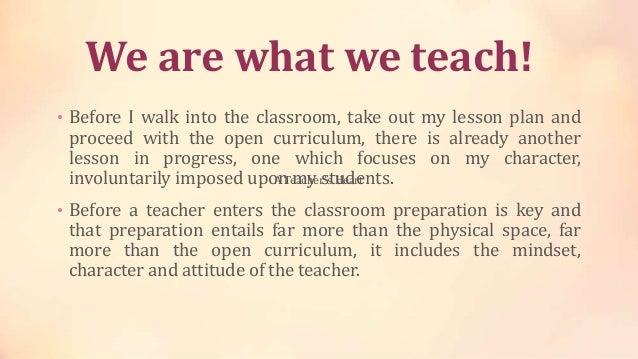 A Teachers Heart