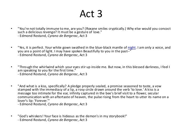 Quotes From Cyrano De Bergerac