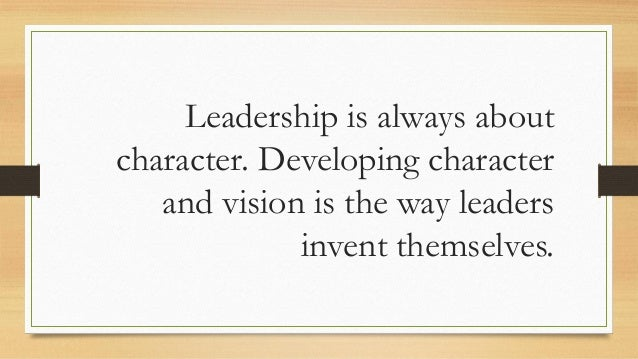 20 Remarkable Quotes From On Becoming A Leader