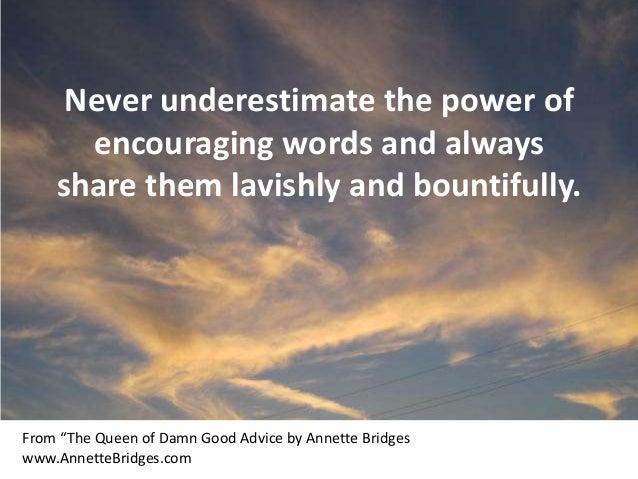 "Good Inspirational Quotes: Inspirational Quotes From ""The Queen Of Damn Good Advice"""