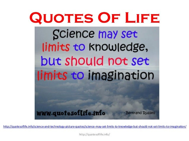 Quotes On Science And Technology 2