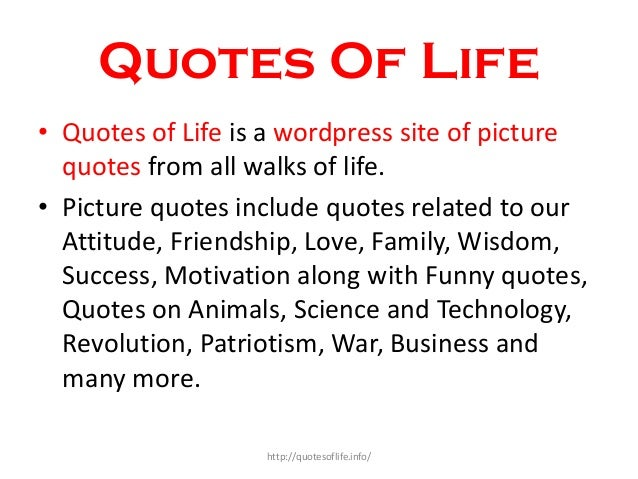 Quote Related To Life Best Quotes Of Life