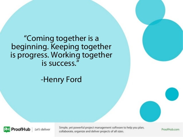 Quotes About Working Together | Quotes To Inspire Great Teamwork