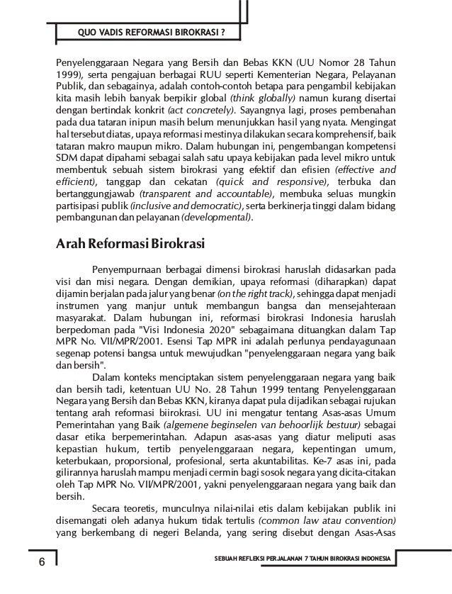 negara secara sinergis. Dalam proses membangun blue print reformasi birokrasi, level of leverage reformasi akan dianalisis...