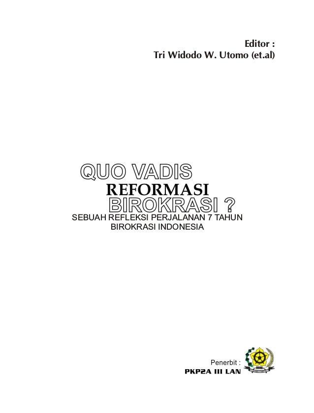 Daftar Isi Daftar Isi………………………………………………………………………….. Pengantar Kepala PKP2A III LAN Samarinda……………………………… BAB I Tri Widodo ...