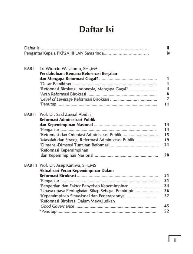 Kata Pengantar Kepala PKP2A III LAN Samarinda Terbitnya buku ini merupakan satu lagi bukti komitmen PKP2A III LAN Samarind...