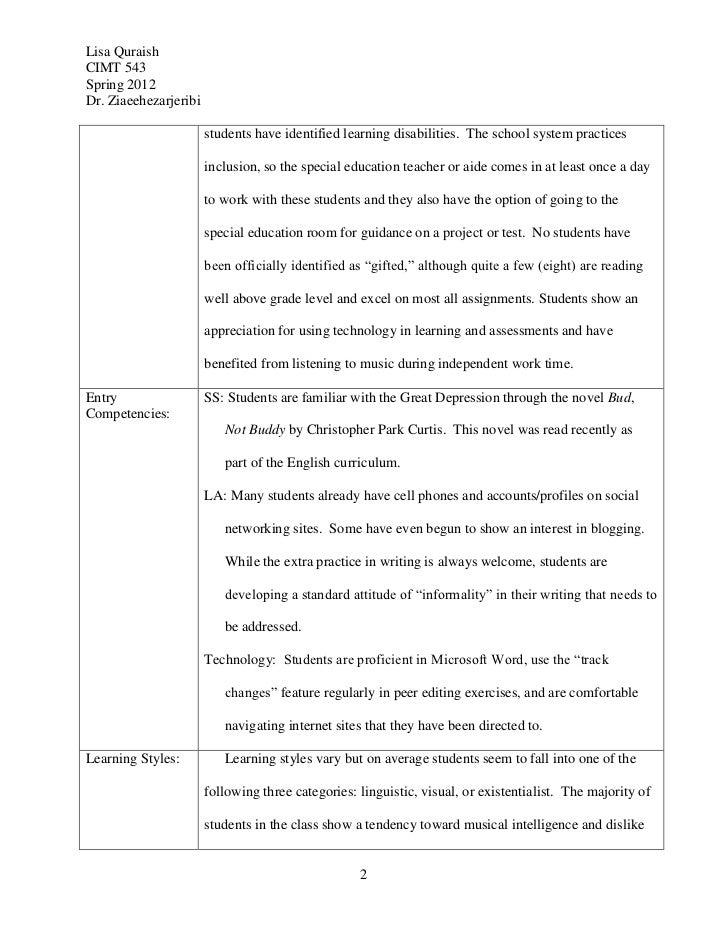 sample assure model lesson plan social studies