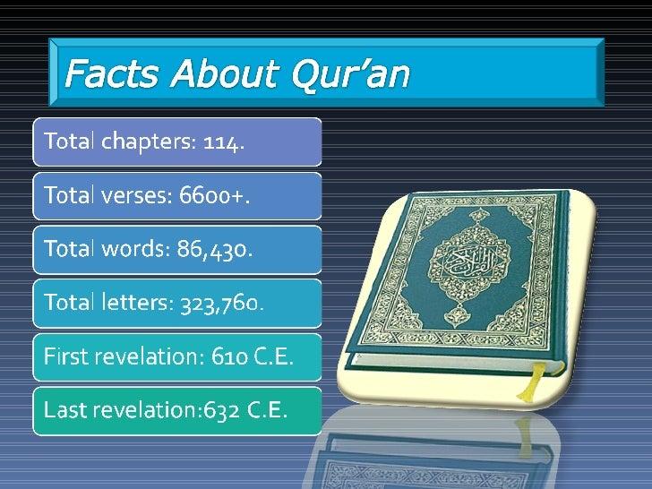 Quran: Compilation, Transmission & Preservation Slide 3