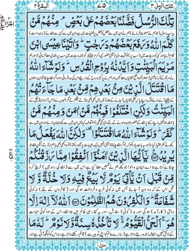 Quran in urdu only pdf download
