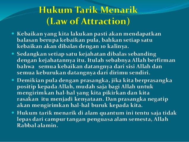 Qur'an in Law of Attraction