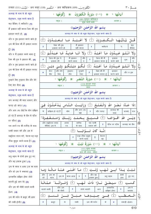 Kanzul Iman Hindi Translation Pdf