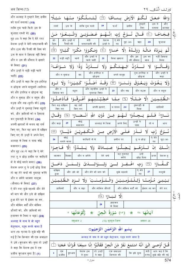 Complete Quran In Hindi Pdf