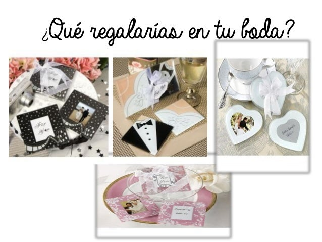 Qu regalar as en tu boda ideas para regalar a tus in - Que regalar en una boda ...