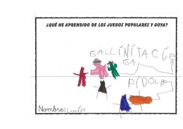 Qué sabemos de los juegos populares y Goya