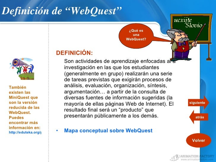 web quest Home technology in the classroom center archives webquests archive webquest discoveries archive the webquests below are some of the best teacher-created webquests we've found on the.
