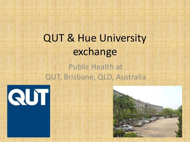 QUT & Hue University exchange Public Health at QUT, Brisbane, QLD, Australia