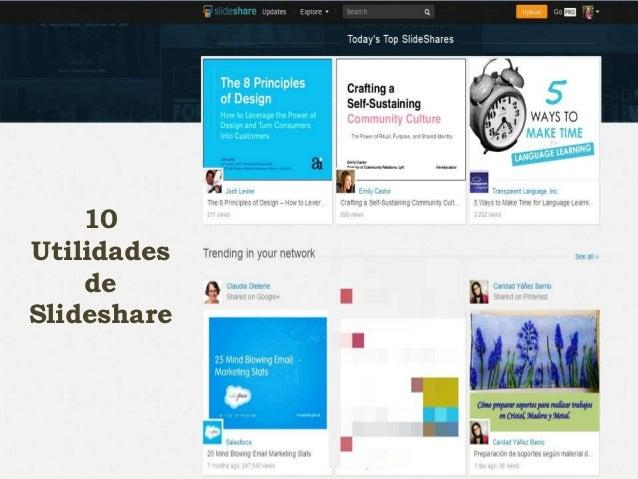 10 Utilidades de Slideshare