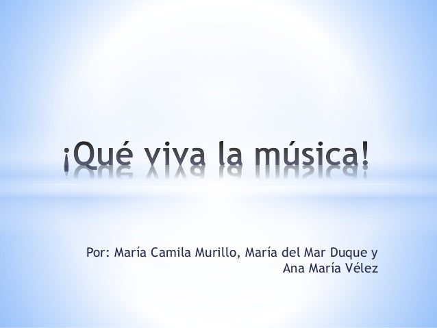 Por: María Camila Murillo, María del Mar Duque y Ana María Vélez