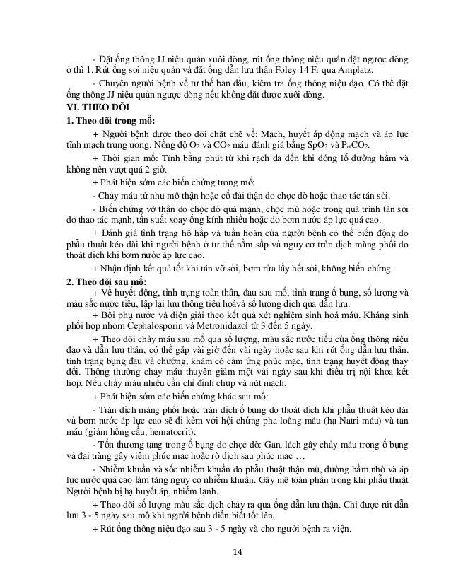 17 LẤY SỎI THẬN BỆNH LÝ, THẬN MÓNG NGỰA, THẬN ĐA NANG I. ĐẠI CƯƠNG Là một trong các phương pháp điều trị sỏi thận trên thậ...