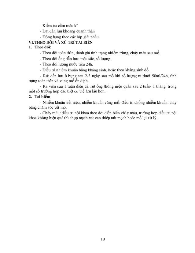 21 PHẪU THUẬT TREO THẬN I. ĐẠI CƯƠNG Là phẫu thuật nhằm tránh cho thận khỏi bị xoắn cuống. II. CHỈ ĐỊNH - Sau cắt thận bán...