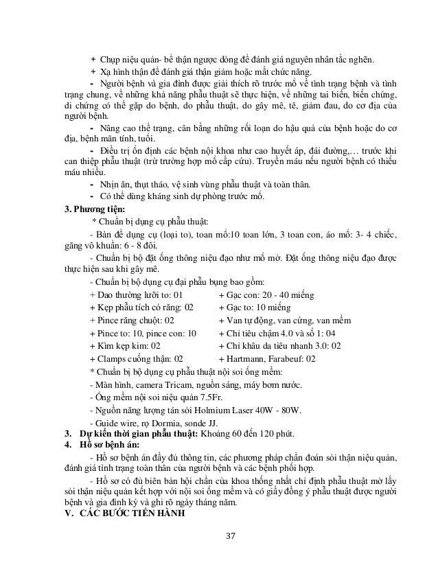 40 PHẪU THUẬT TẠO HÌNH KHÚC NỐI BỂ THẬN - NIỆU QUẢN (PHƯƠNG PHÁP FOLEY, ANDERSON - HYNES) I. ĐẠI CƯƠNG - Hẹp khúc nối bể t...