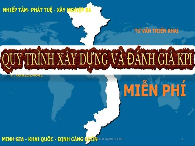 7/4/2014 QUY TRINH XAY DUNG & DANH GIA KPI 1
