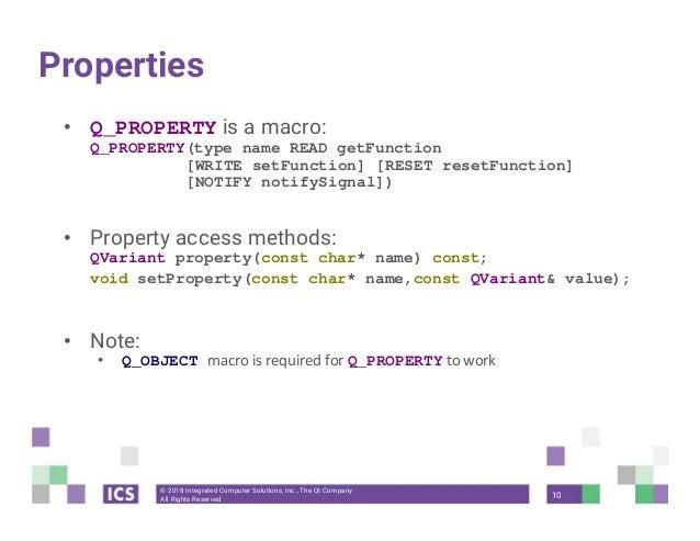 QVariant, QObject — Qt's not just for GUI development