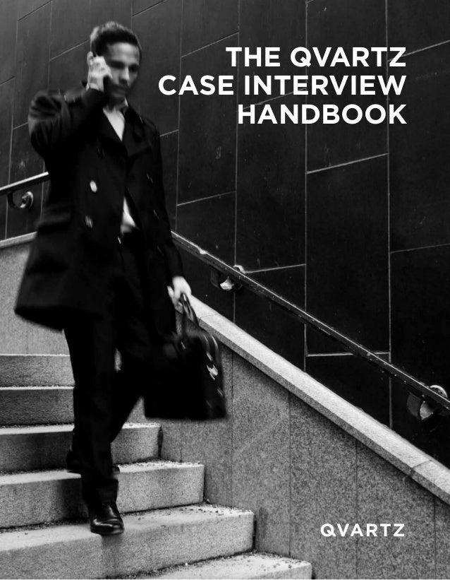 The QVartz case interview handbook