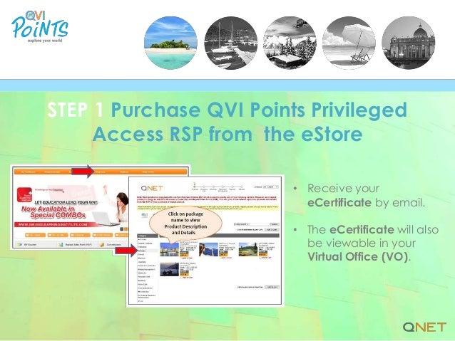 QVI Points: A 5-Step User Guide Slide 2