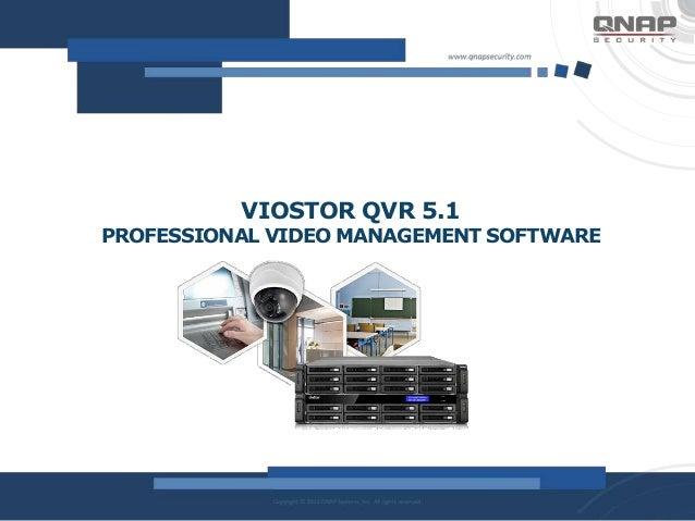 QNAP New Viostor QVR 5 1 Professional Video Management
