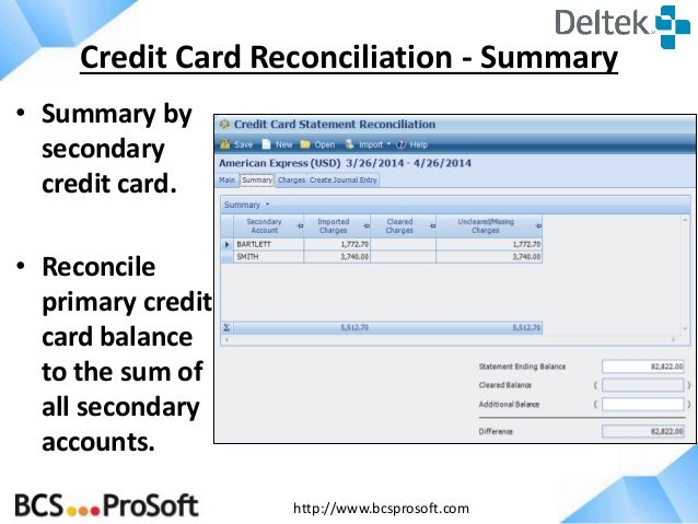 Credit Card Statement Template Excel