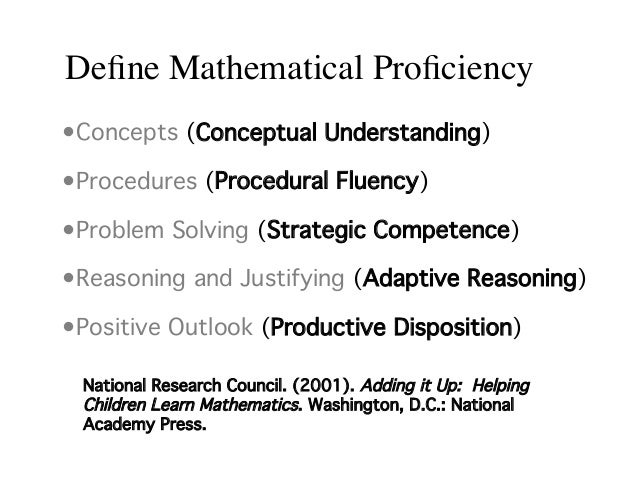 What is Proficiency Testing?