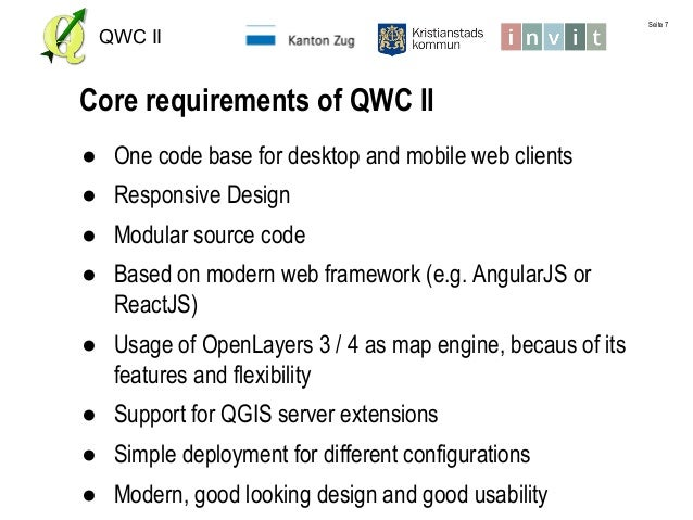QWC2 - modern web maps with QGIS Server