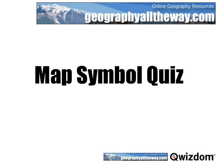 Geographyalltheway Map Symbols