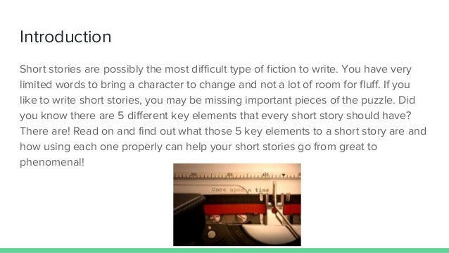 2 Introduction Short Stories