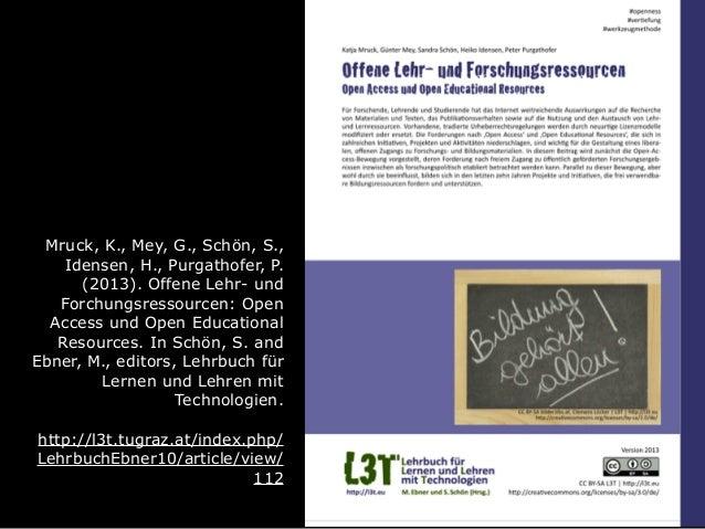 Seminar AK Technology Enhanced Learning - Einheit 3 Slide 3