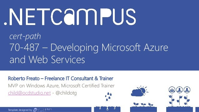 Cert05 70 487 Developing Microsoft Azure And Web Services