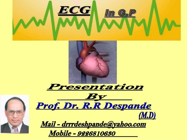 TITLE 1. Introduction  Slide Number 5 to 10  2. Electric circuit of heart  11  3. Waves of ECG  12  4. Normal ECG of chest...