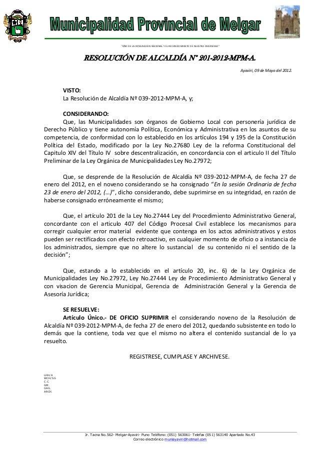Jr. Tacna No.562- Melgar-Ayaviri- Puno Teléfono: (051) 563061- Telefax (051) 563140 Apartado No.43 Correo electrónico muni...