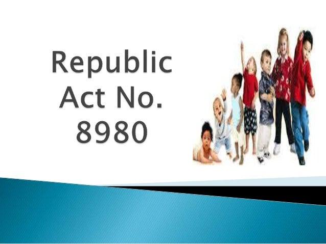Republic Act 8980 Slide 2