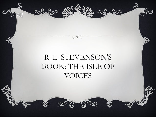 Robert Louis Stevenson Biography